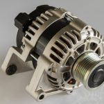 Car alternator. Main source of electrical energy in the car.