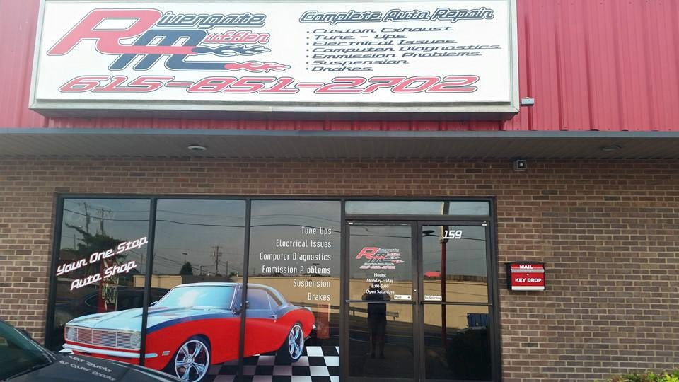 car repair issues Rivergate Muffler storefront